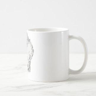 Easter Lamb Basket Coffee Mugs