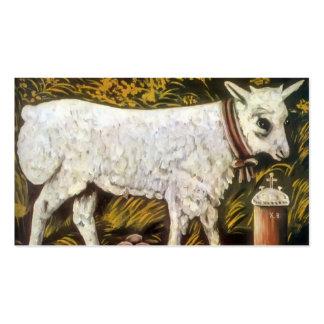 Easter lamb by Niko Pirosmani Business Card Template