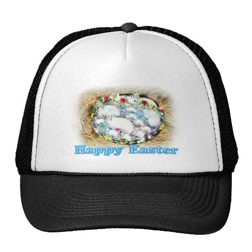 Easter Lamb in the Hay Hats
