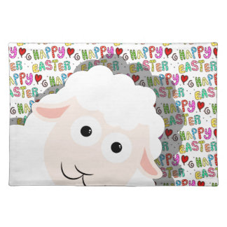 Easter lamb placemat