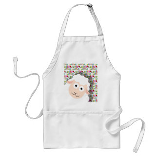 Easter lamb standard apron