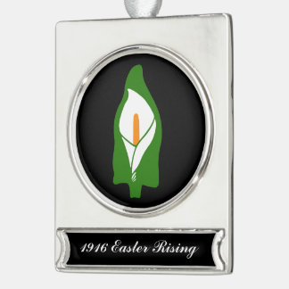 Easter Lily Banner Decoration