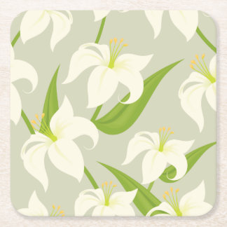Easter Lily Coasters