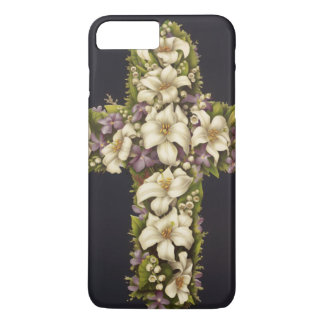 Easter Lily Cross iPhone 8 Plus/7 Plus Case