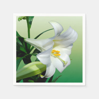 Easter Lily Disposable Serviette