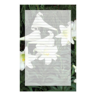 Easter Lily (Lilium regale) Personalised Stationery