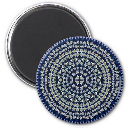 Easter Lily Mandala Magnet