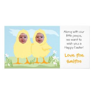 Easter Little Chicks - Photo Card