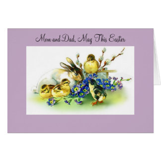 Easter Mom And Dad Card