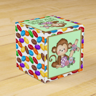 Easter Monkey Holiday favor box