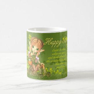 Easter Mug - Cute Centaur With Easter Basket