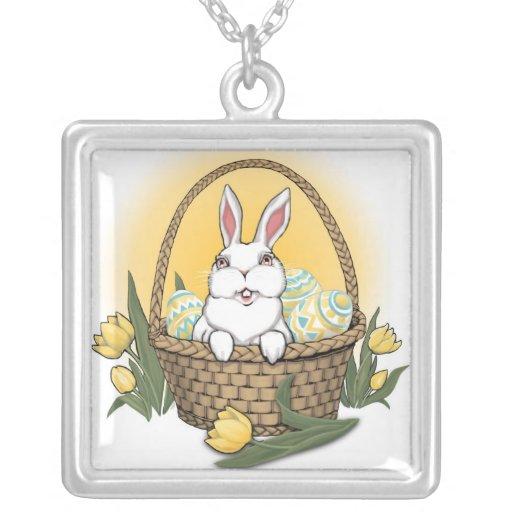 Easter Necklace Easter Bunny Trinket Easter Gifts