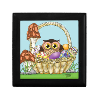 Easter Owl Gift Box