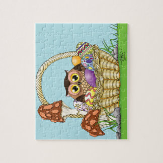 Easter Owl Jigsaw Puzzle