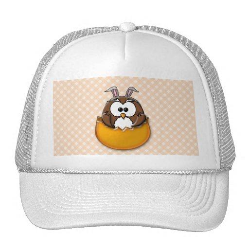 Easter owl - orange hats