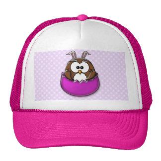 Easter owl - pink cap