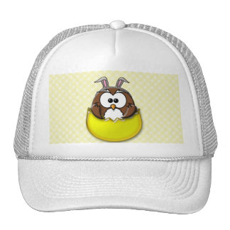 Easter owl - yellow cap