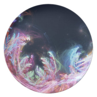 Easter Party Abstract Digital Art Party Plates