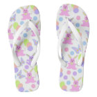 Easter Party Pattern Thongs