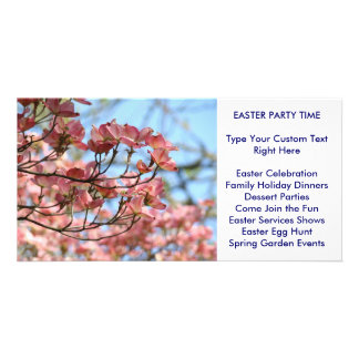 Easter Party Time! Spring Events Invitations Cards Personalized Photo Card
