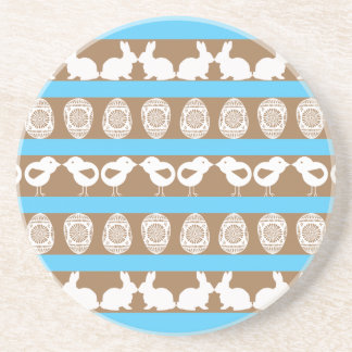 Easter pattern. Any background color Coaster