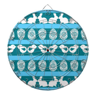 Easter pattern. Any background color Dart Board
