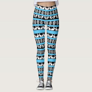 Easter pattern. Any background color Leggings