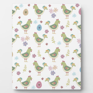 Easter Pattern Plaque