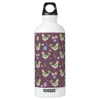 Easter Pattern Water Bottle