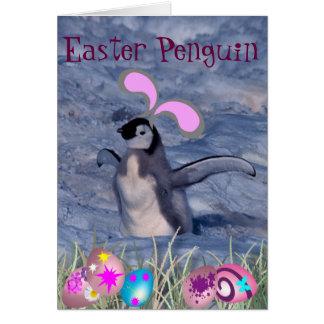 Easter Penguin Card