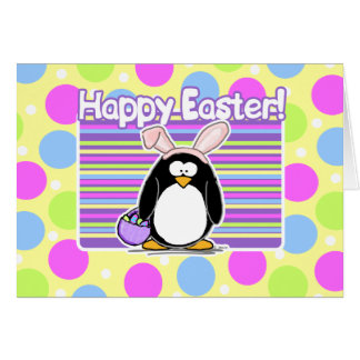 Easter penguin gifts t shirts art posters other gift ideas easter penguin easter card negle Images