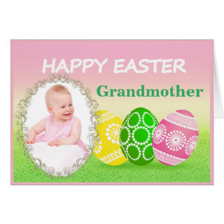 Easter for grandparents gifts t shirts art posters other easter photo card for grandparent negle Gallery