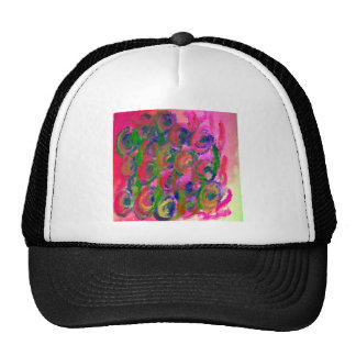 Easter PinRose Floral and Colorful Design Products Trucker Hat