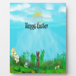 easter plaque