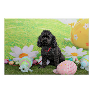 Easter - Poodle - Junior Posters