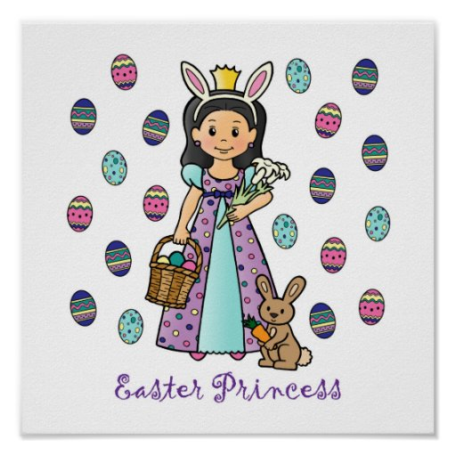Easter Princess Posters