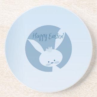 Easter Rabbit Beverage Coaster