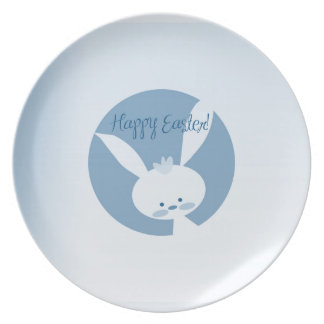 Easter Rabbit Dinner Plates