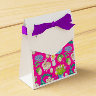 Easter Rabbit guards illustration Favour Box