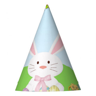 Easter rabbit party hat