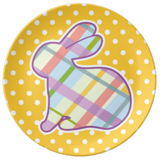 Easter Rabbit Plate