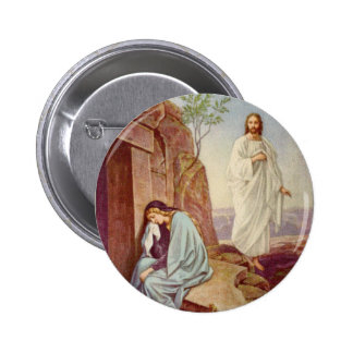 Easter Resurrection Day 6 Cm Round Badge