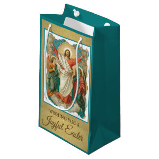 Easter Resurrection of Jesus Angels Small Gift Bag