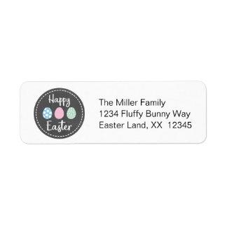 Easter Return Address Return Address Label