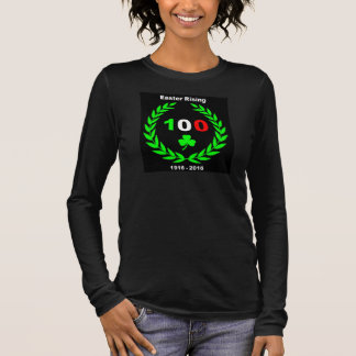 Easter Rising Centenary - Ladies Long-Sleeve Long Sleeve T-Shirt