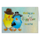 Easter - Secret Pal - Chicks Card