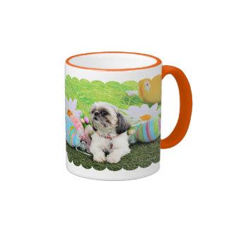 Easter - Shih Tzu - Sophie Coffee Mugs