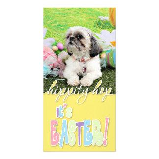 Easter - Shih Tzu - Sophie Picture Card