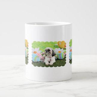 Easter - Shih Tzu - Sophie Jumbo Mugs