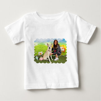 Easter - Siberian Husky - Contessa T Shirt